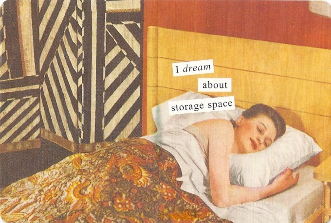 Comics - I dream about storage space